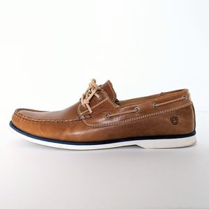 🇵🇹 Boat Shoes Tan Leather Made In Portugal